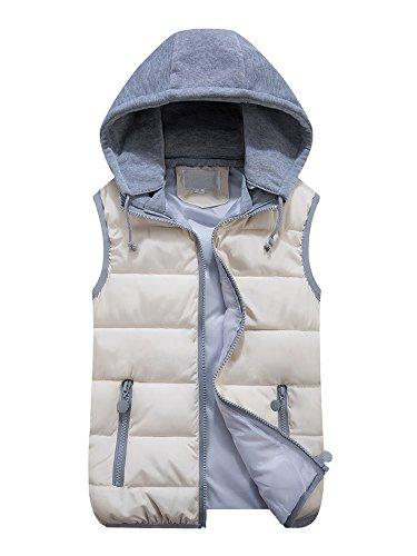 硬さやさしい伝染病(オチェーンタ)OCHENTA 可愛い ベスト レディース ダウン ベスト パーカー 中綿