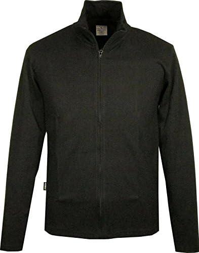 アビレックス 毎日着るからタフでリーズナブル ! リブ素材 薄手のZIP スタンドジャケット デイリージャケット