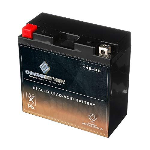 Chrome Battery YT14B-BS Chrome