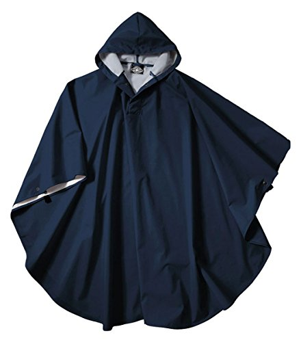 Charles River Apparel 8709 Youth Pacific Poncho, Navy, One Size