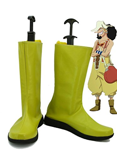 Een Stuk Anime Usopp Cosplay Schoenen Laarzen Op Maat Gemaakt