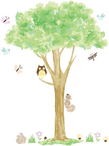 Bluebird Wall (Tree House Wall Art Kit)