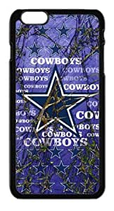 Cool Metal Background With Dallas Cowboys Logo Case Cover for Iphone 6 4.7""