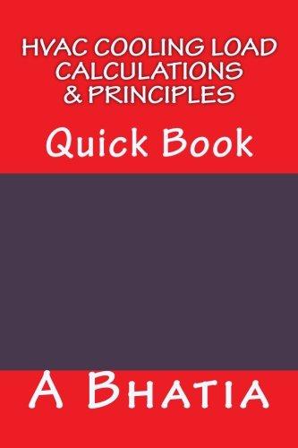 HVAC Cooling Load - Calculations & Principles: Quick Book