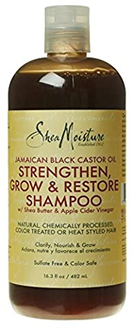 SheaMoisture Jamaican Black Castor Oil Shampoo, 16.3 Ounce