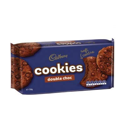 Cadbury Cookie Double Chocolate 156g