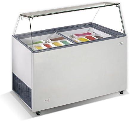 Crystal S.A VENUS VETRINE - Congelador de helado LxWxH ...