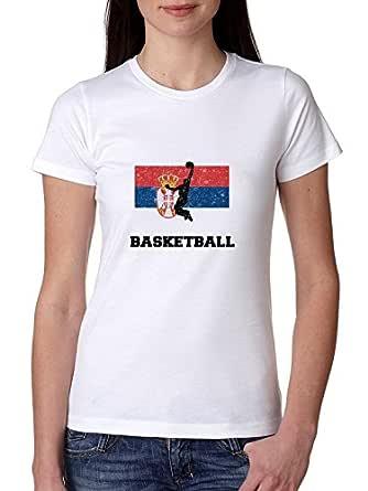 Hollywood Rosca olímpico de Serbia - Baloncesto diseño de Silueta ...