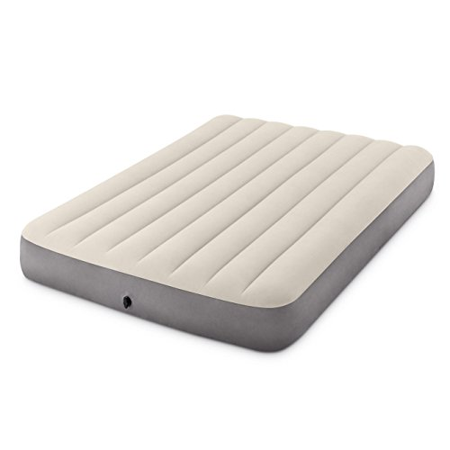 Intex Dura-Beam Standard Series Deluxe Single-High Airbed, Bed Height 10