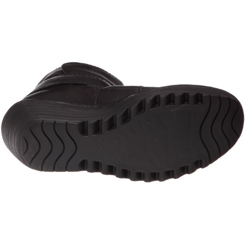 Fly London Yeddo, Women's Wedge Boots Black