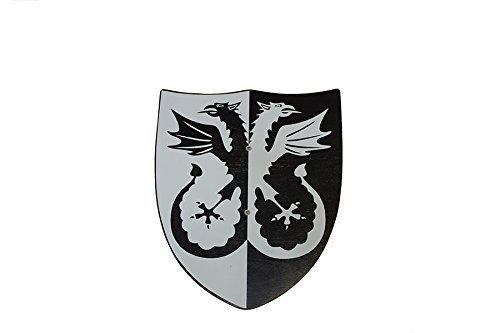 Juguetutto - Escudo dragón dos cabezas - Juguete de madera