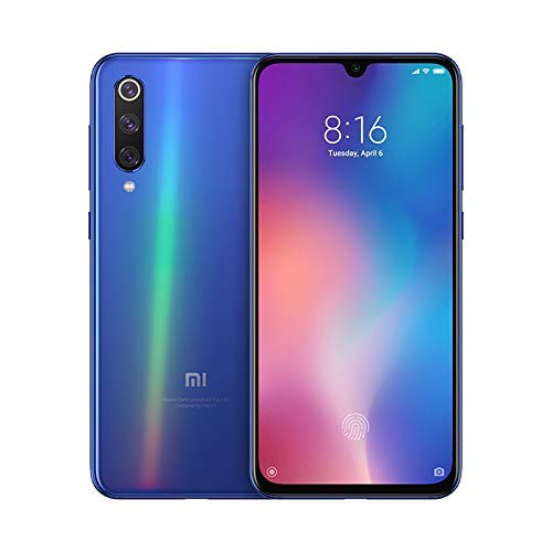 Xiaomi Mi 9 SE Unlocked 6GB/128GB Dual Sim 4G LTE Phone International Global Version - Ocean Blue