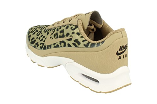 Nike Air Max Jewell Print Dame Kører Undervisere Aa4604 Sneakers Sko Khaki Sort Hvid 200 Mh04Z