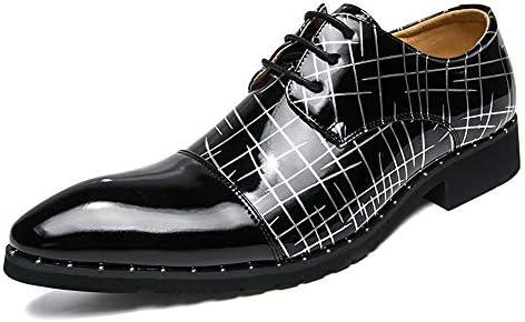 古典的な丸いつま先レースアップストライプテクスチャフォーマルシューズメンズファッションビジネスオックスフォードカジュアル快適な 快適な男性のために設計