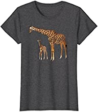 Mother and Baby Giraffe T-Shirt