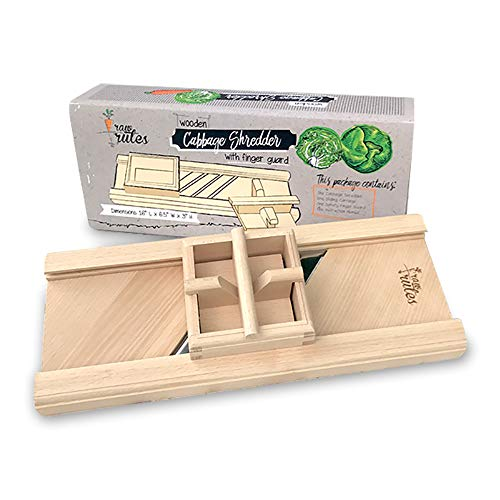 Compact Wooden Cabbage Shredder