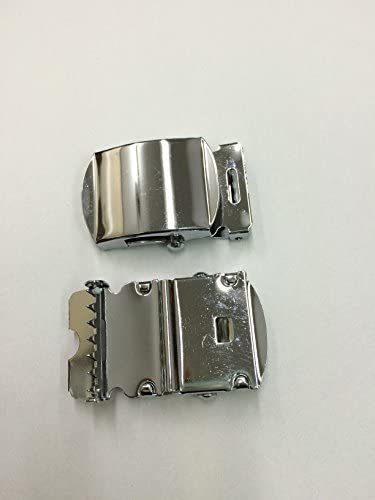 [okuda-belt] ガチャベルト GIベルト 140センチ 黒イブシメッキ お買い得な 黒、黃、赤 3本セット 着せ替え用バックル付 自社生産