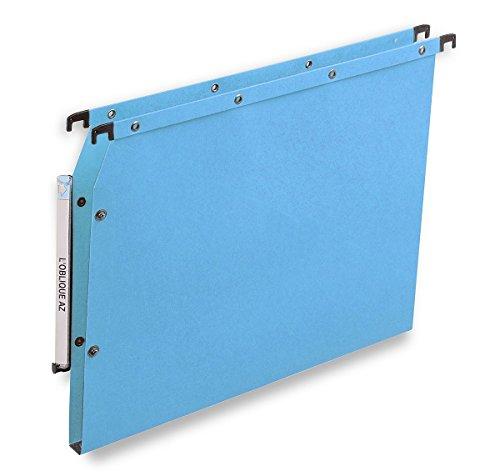 L Oblique AZ - Caja de 25 archivadores colgantes para armario AZV az azul: Amazon.es: Oficina y papelería