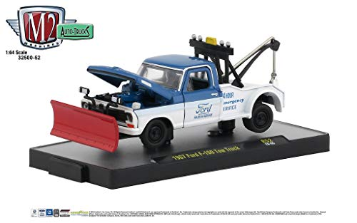 M2 Machines Auto Trucks 1:64 1967 Ford F100 Tow Truck Release 52 ()