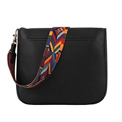 Black Size Dissa Bag Womens One Shoulder wBxpt46qSx