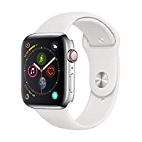 Deals on Apple Watch Series 4 GPS + Cellular 44mm Smartwatch Stainless