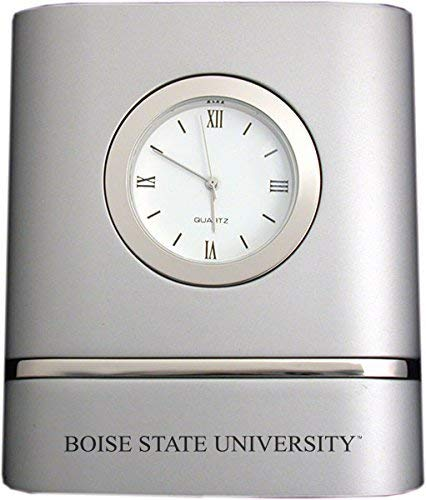 Boise State University- Two-Toned Desk Clock -