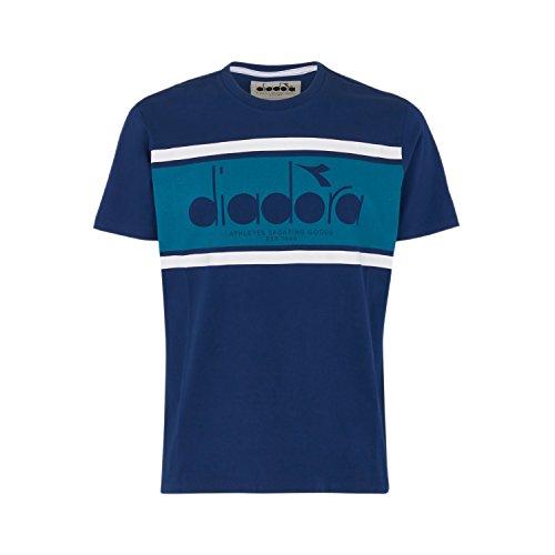 shirt Ceramica C6562 Estate Blu Bl T Diadora verde Per Ss Uomo fBxAOnw1q