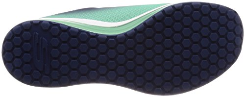 Skechers Womens Air Element Fashion Sneaker Navy-green