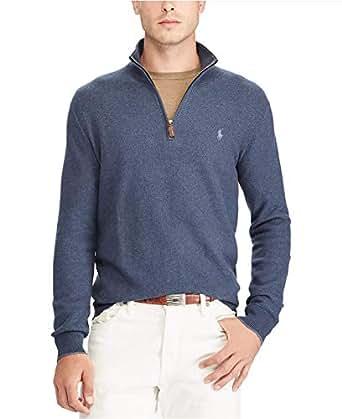 Polo Ralph Lauren Men's Half-Zip Sweater Winter Navy