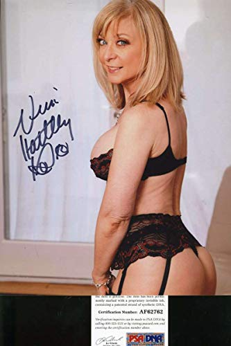 NINA HARTLEY PSA DNA Coa Hand Signed 8x10 Photo Autograph