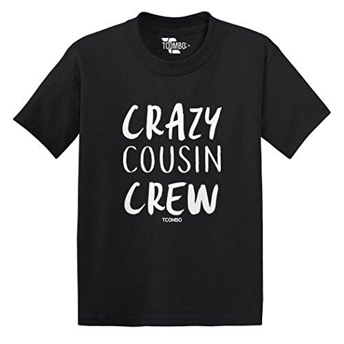 Crazy Cousin Crew Toddler/Infant T-Shirt (Black, (Cousin Black T-shirt)