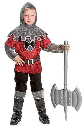 Amazon.com: Niños Disfraz de caballero medieval, Niño(a) M ...