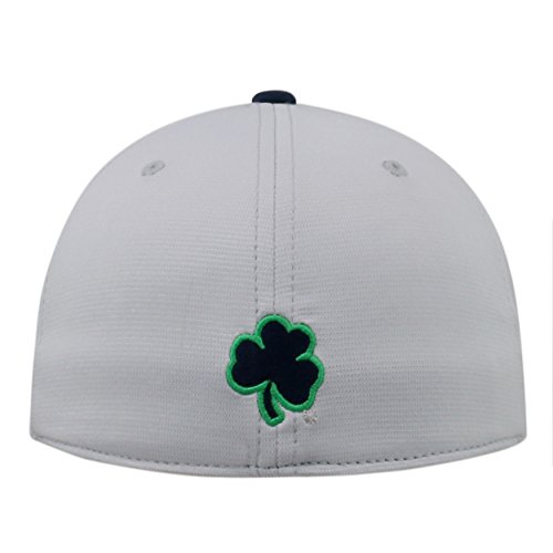 new concept 394ee dc618 ... Top of the World Notre Dame Fighting Irish Official NCAA One Fit Impact  Hat 057903. Free Shipping Free Shipping