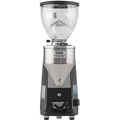 Mazzer Mini Electronic E Espresso Coffee Doserless Grinder Black
