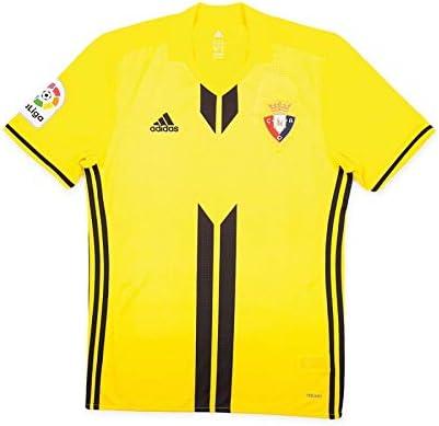 adidas CA Osasuna Segunda Equipación 2017-2018, Camiseta, Amarilla: Amazon.es: Deportes y aire libre