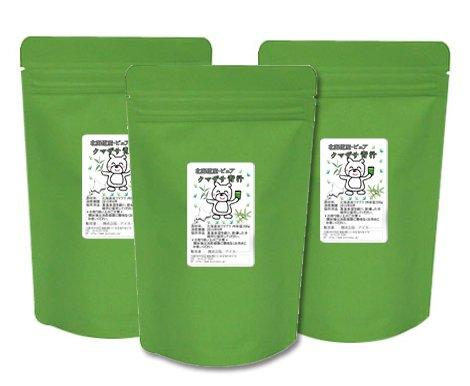 新クマザサピュアパウダー 国産北海道 熊笹青汁粉末200g (200g×3袋セット) B01BEUWKHA   200g×3袋セット