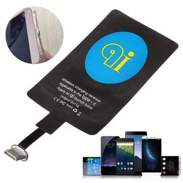 Generic USB Type C Wireless Charger Charging Receiver Module Pad for Mobile Phone