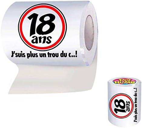Rouleau de papier WC 18 Ans – …