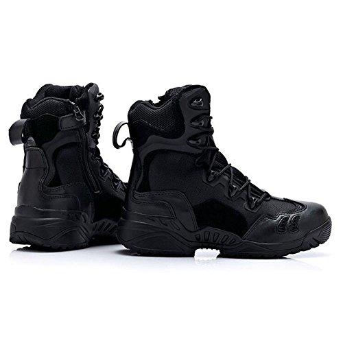Haut Bottes Hommes Explorer Haut nihiug du De Bottes D'usure Désert Bottes en De Air Black Plein Tactiques pour Randonnée Chaussures Baskets Professionnelles Combat FqwRfI