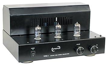Dynavox TPR-1 - Amplificador valvular, color negro