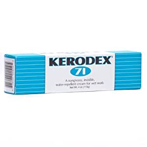 Kerodex #71 Wet Work Skin Protectant Cream 4 Oz Tube