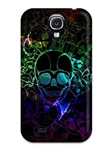 Nannette J. Arroyo's Shop Tpu Shockproof/dirt-proof Cool Skull Cover Case For Galaxy(s4)