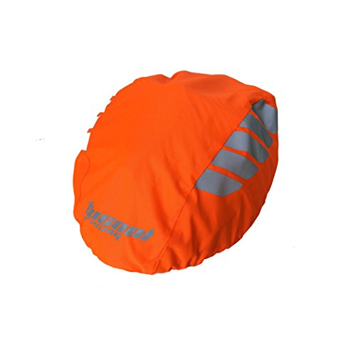 Tucool Racing Night Visual Waterproof Windproof Bike Bicycle Helmet Cover Cycling Rain Cover (Fluorescent Orange) - Racing Helmet Bicycle