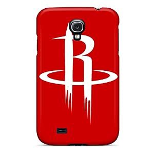 High Impact Dirt/shock Proof Case Cover For Galaxy S4 (nba Houston Rockets 1)