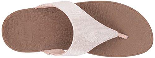 Fitflop Women's Lulu Lizard-Print Flip Flops Sandal Nude pO6a3NKjTU