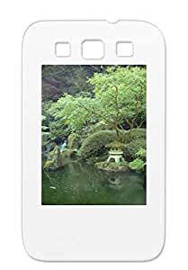 Gray Japan In Seattle Nature Animals Japanese Garden Cover Case For Sumsang Galaxy S3