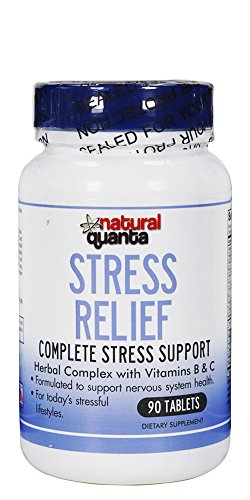 Stress Relief Herbal Complex with Vitamins B and C 90 Tablets