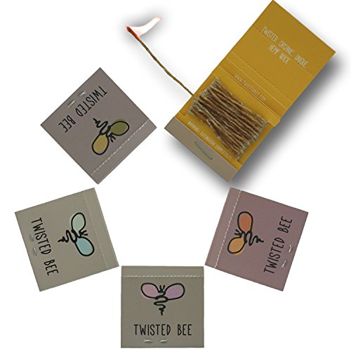 100-Organic-Hemp-Wick-Pocket-Packs-with-Beeswax-Coating-Dispenser-Holder-Twisted-Bee