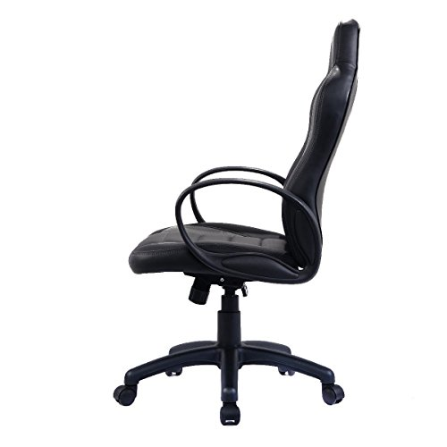 41DBpL3Qb L - Giantex-PU-Leather-High-Back-Executive-Race-Car-Style-Bucket-Seat-Office-Desk-Chair