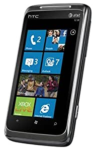 HTC T8788 7 Surround Unlocked Phone with Windows 7, Surround Sound, 5MP Camera and HD Video - US Warranty - Black